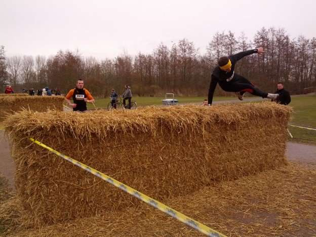 Trainen voor een obstacle run