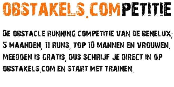 Nederlandse obstacle running competitie