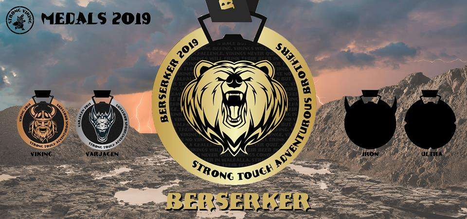 berserker medaille strong viking