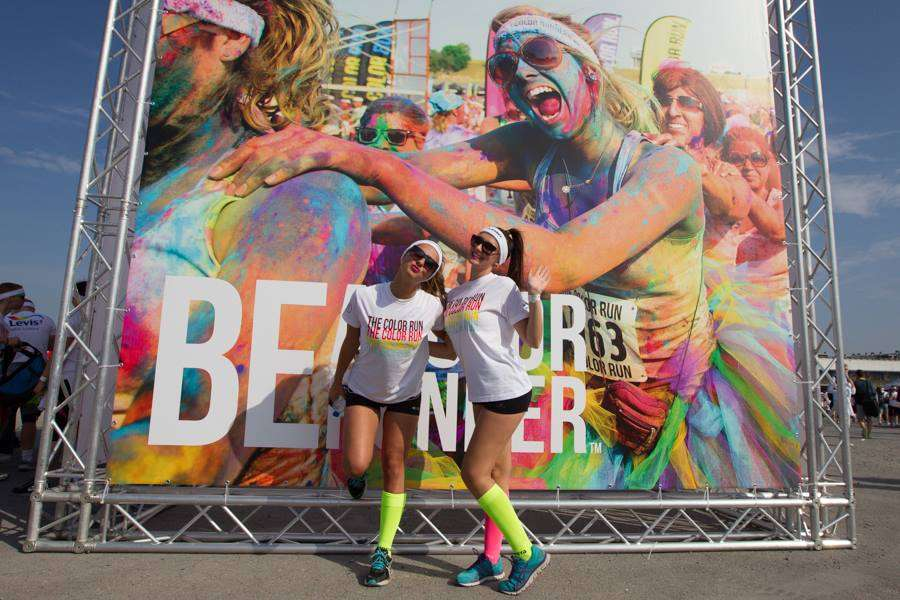 Foto's Color Run Brussel