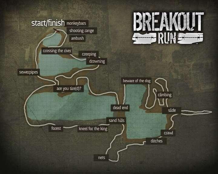 Breakout Run Parcours
