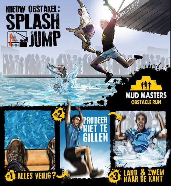 Mud Masters 2013 Splash Jump