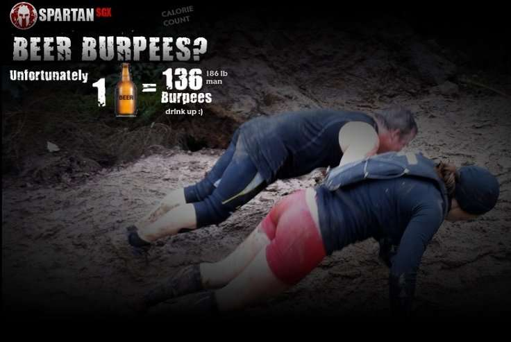 Burpees for beer