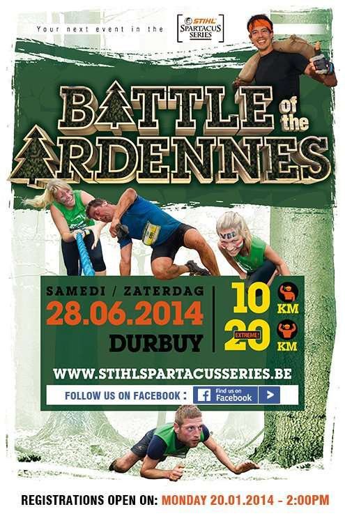 Battle of the Ardennes Flyer