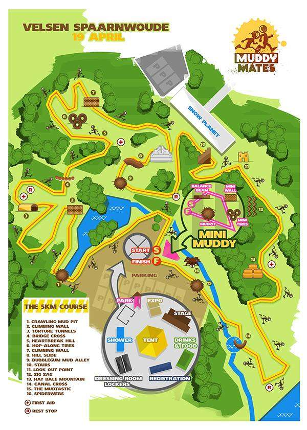 Muddy Mates Parcours