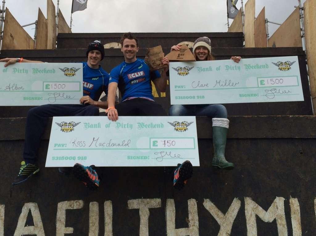 Winners Rat Race Dirty Weekend