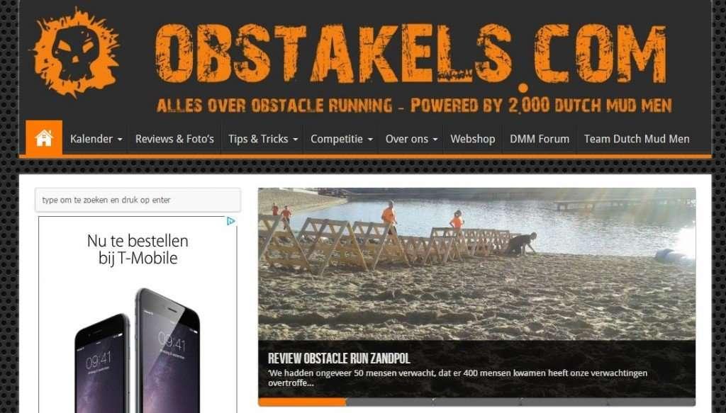 Obstakels.com - Versie 3 - 2014