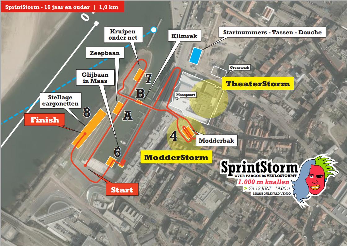 Nederlandse Obstacle sprint