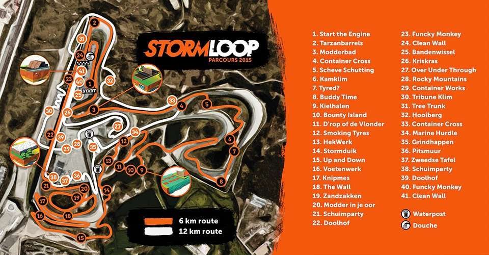 Parcours Stormloop