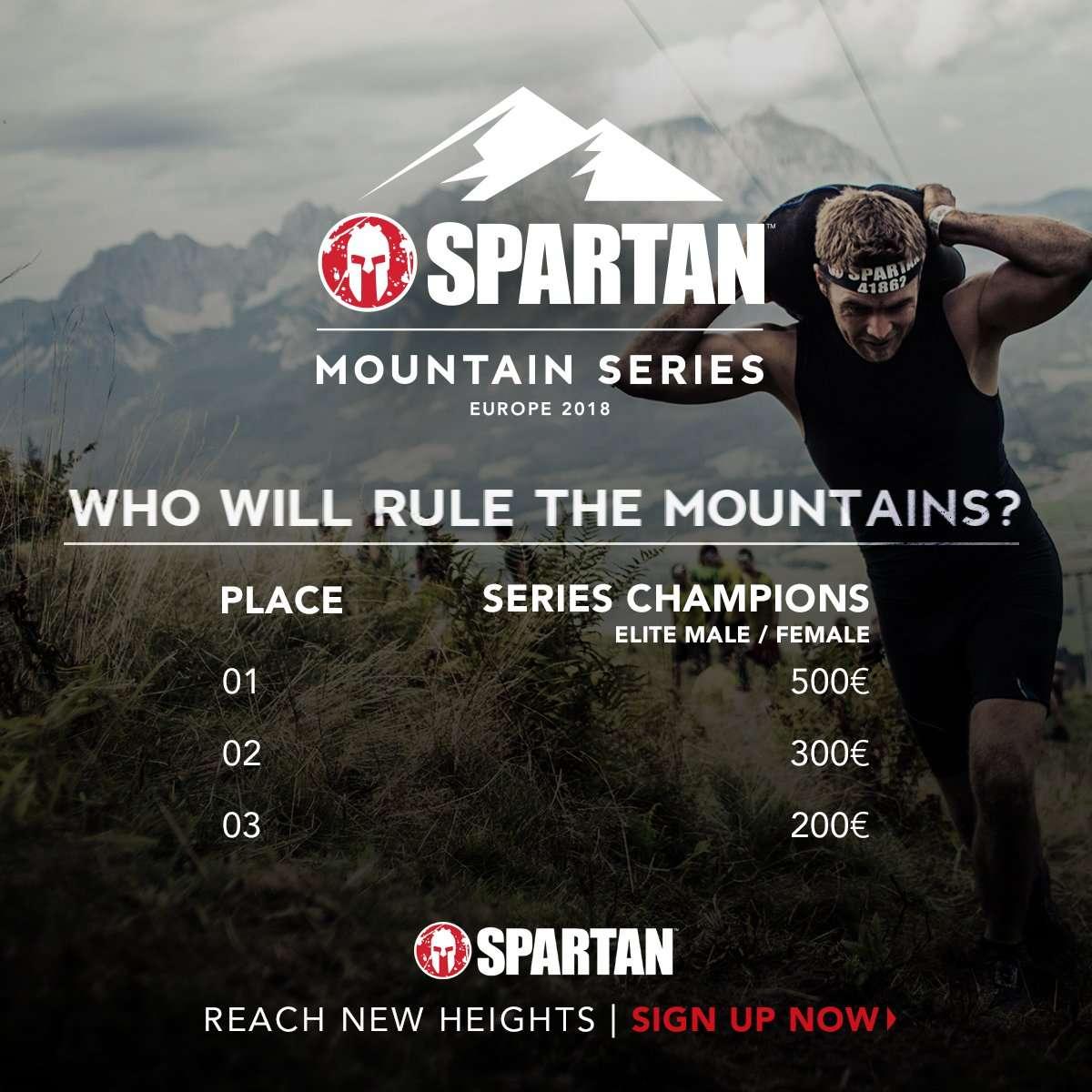 spartan mountain series
