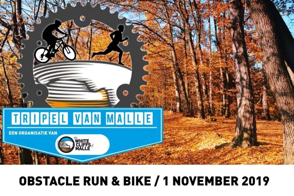 tripel van malle obstacle bike run