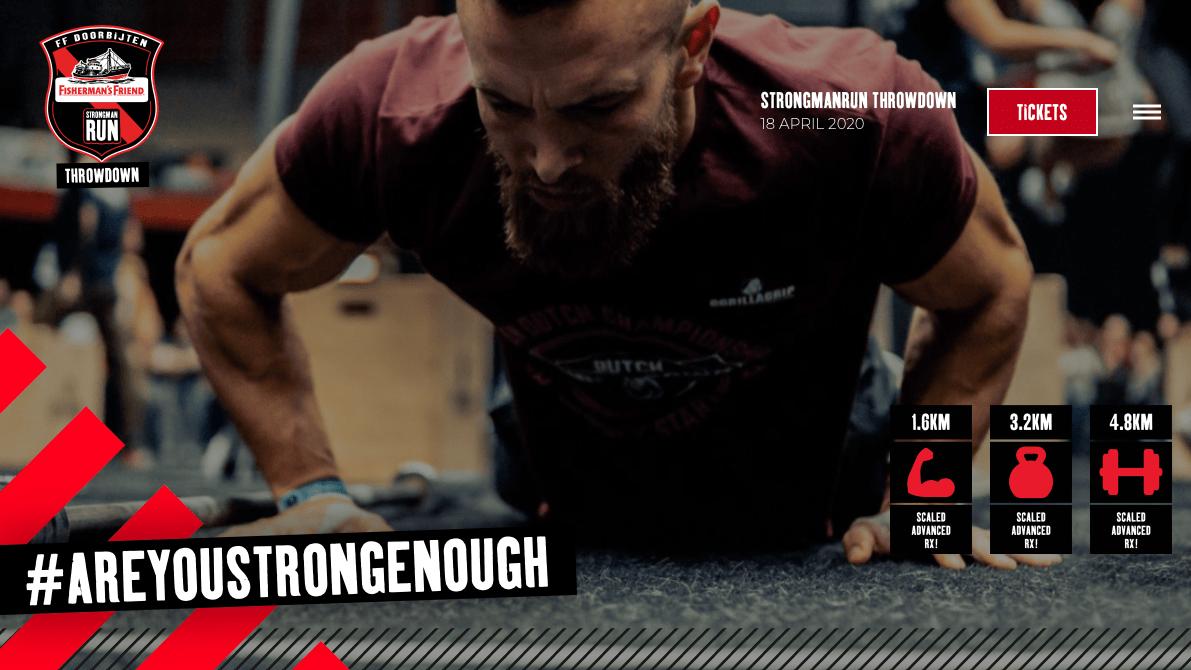 Strongmanrun Throwdown